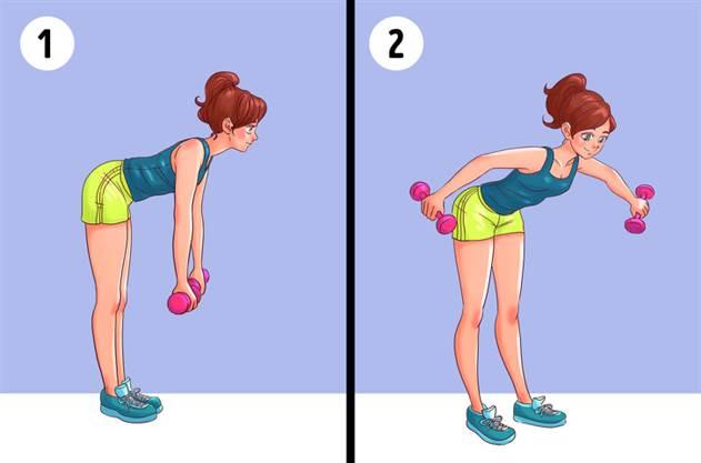 Готовимся, уже скоро лето - 6 упражнений, которые помогут забыть о жировых складках на спине и боках