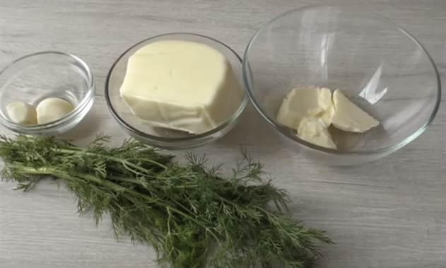 Сыпем зелень в тесто и ставим в духовку